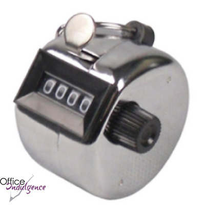 Metal Tally Counter  - Counts up to 9999 Clicks Italplast I 411