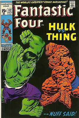 Fantastic Four # 112  July 1971  Marvel Comics