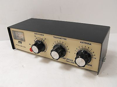 MFJ MFJ-921 VHF Dual Band Antenna Tuner 144 - 220 MHz VINTAGE (Untested)