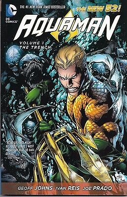 'Aquaman Volume 1: The Trench' Graphic Novel - DC Comics - Paperback - New 52
