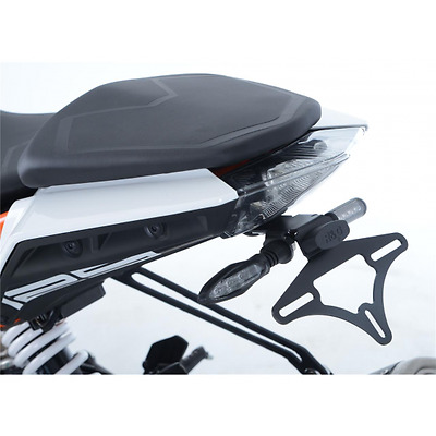 Support de plaque r&g racing noir ktm duke 125... - R&g racing 445261 (LP0225BK)
