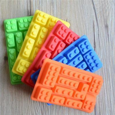 Silicone Brick & Robot ICE Cube Candy Chocolate Cake Soap Mold New Jian