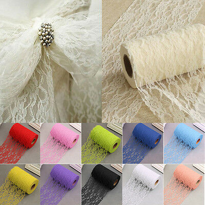 LACE NET on ROLL Wedding Chair Tie Sash Floral Venue Table Balloon Net 22 Metres