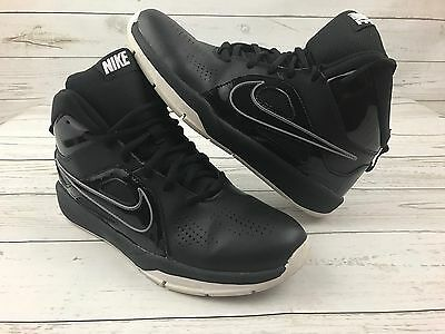 Boys NIKE Team Hustle D6 Basketball Shoes/Sneakers - Black Size 6.5 Youth