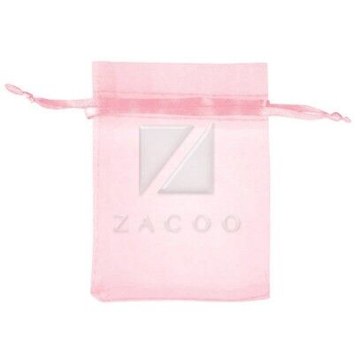 7x9cm 25pcs Pink ORGANZA XMAS GIFT BAGS Party Wedding Candy Jewellery Pouches