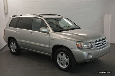 2004 Toyota Highlander 4dr V6 4WD Limited w/3rd Row Toyota Highlander Limited 4X4 Third Row Seat Sunroof Heated Seats Leather