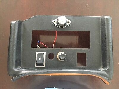Original MGB Center Console, Good condition, added parts