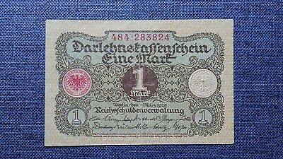 GERMANY Weimar 1 Mark 1920 Banknote
