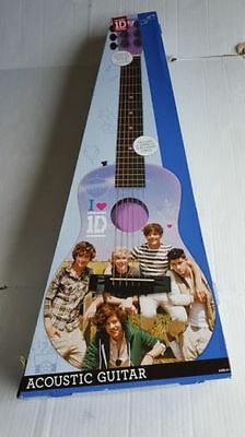 One Direction NEW Purple *Acoustic Guitar* SOLD~OUT!! Very Rare~Perfect~Gift!
