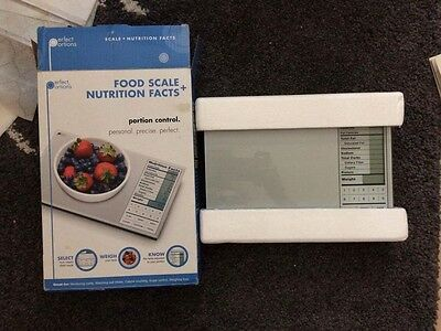 Perfect Portions Digital Nutrition Food Scale Digital Electronic Weight Device