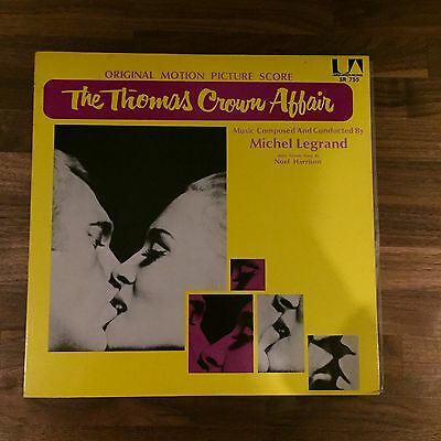 The Thomas Crown Affair | Soundtrack | Japan LP | Vinyl
