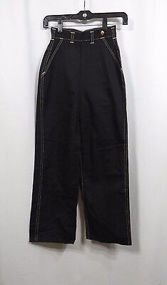 Vintage Jeans Pants 50s 40s High Waist New Old Stock Cotton Rockabilly Swing