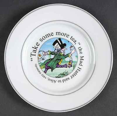 Cardew Design ALICE IN WONDERLAND'S CAFE Mad Hatter Salad Plate 8231901