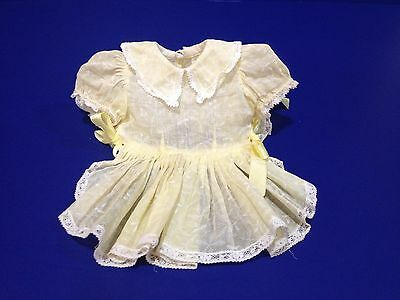 "VINTAGE TAGGED ORGANDY SHADOW PRINT SUN DRESS for 16"" Terri Lee ~ Doll Clothes"