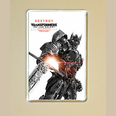 Transformers: The Last Knight - Mark Wahlberg - Optimus Prime - Fridge Magnet