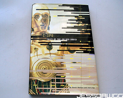 C-3PO Tales of the Golden Droid book great for Star Wars reference prop custom