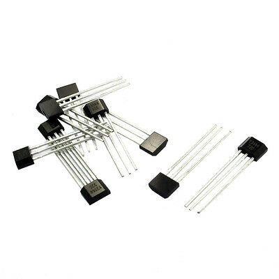 CS 5X 10Pcs Y3144 Sensitive Hall Effect Sensor Magnetic Detector 4.5-24V H1K7