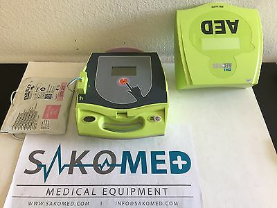 ZOLL AED Plus USED With NEW Adult Pad and NEW Battery Installed