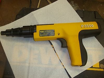 Dewalt P3500 Powerful Low Velocity Powder Actuated Fastening Tool NEW