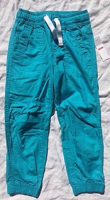 LINDEX - Turquoise Pull-On Pants - Size 5 (110) - NEW