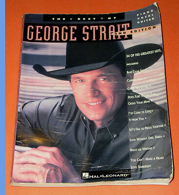 George Strait Best Of Songbook 2nd Edition