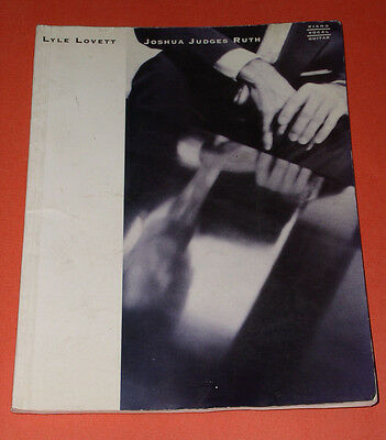 Lyle Lovett Joshua Judges Ruth Songbook Vintage 1992