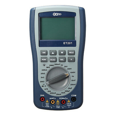 EONE ET201 2 in 1 Digital Intelligent Handheld Storage Oscilloscope Multimeter A