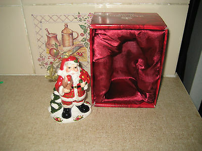 Royal Albert-Santa Claus  Christmas Ornament-With Box Used