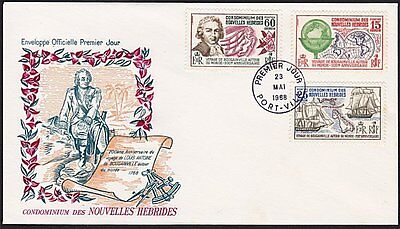 NEW HEBRIDES FRENCH 1968 Bougainville FDC..................................68408