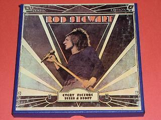 Rod Stewart Reel To Reel Tape Vintage Every Picture Tells A Story