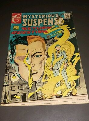 Mysterious Suspense #1 (Oct 1968, Charlton) Story & art by Steve Ditko
