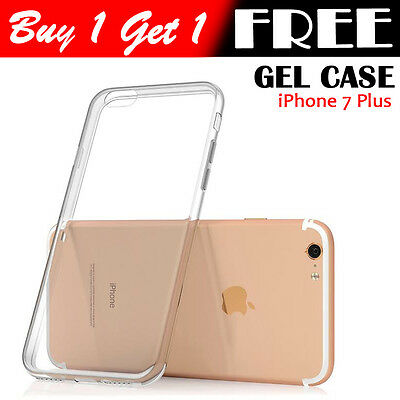 Ultra Thin Slim TPU Gel Skin Cover Case  for Apple iPhone 7PLUS (92