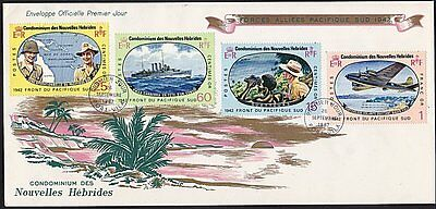 NEW HEBRIDES FRENCH 1967 Pacific War FDC...................................68378