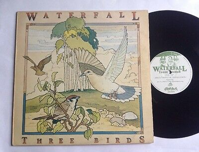 "Waterfall - ""three Birds"" Private Press Folk Lp - Near Mint"