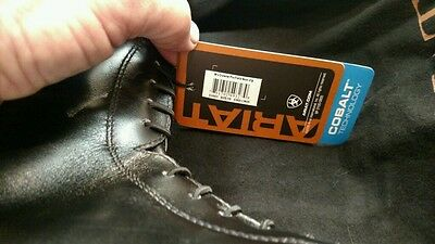 Ladies Ariat Size 10 Pro Crowne Field Boots Wide Calf Bag NWT