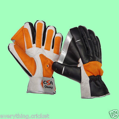 OSA INDOOR CRICKET Wicket Keeping Gloves + AFFORDABLE + AU Stock + 2015