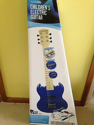 Child Electric Guitar And  Amplifier Brand New In Boxes Livungstone
