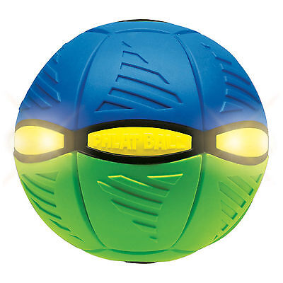New Britz'n Pieces Phlat Ball Flash Green/blue  Bma861 Outdoor Toys