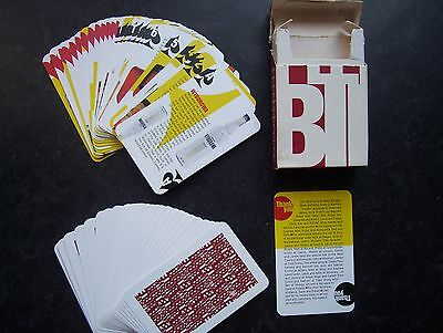 Rare Pleasure Bible Of Alcohol Drinks Deck Of Playing Cards.(Unused=Mint)