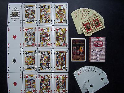"Rare Badger Brewery ""tangle Foot"" Deck Of Playing Cards.(Unused=Mint)"