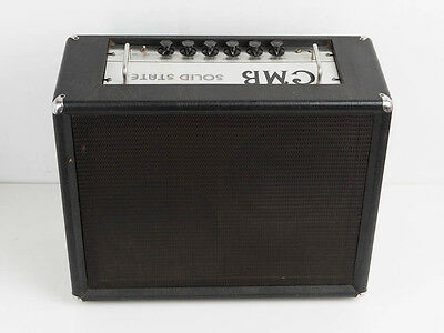 Vintage Guitar AMP Amplificador Guitarra SOLID STATE CMB Centro Musical COMBO