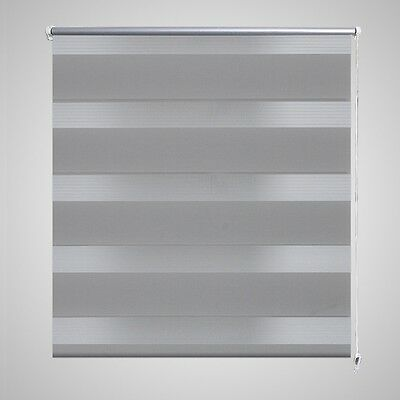 New Roller Blind Blackout 60x120cm Grey Daynight Window Blinds Sunscreen Quality