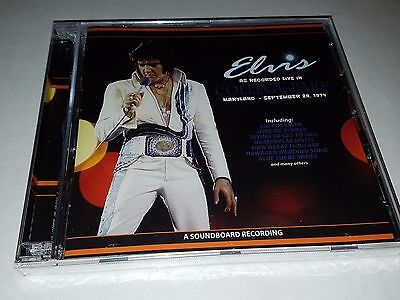 Elvis Presley - as recorded in college park  - very rare 2 cd sealed
