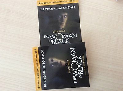 Theatre Voucher The Woman In Black Two Seats For The Price Of One