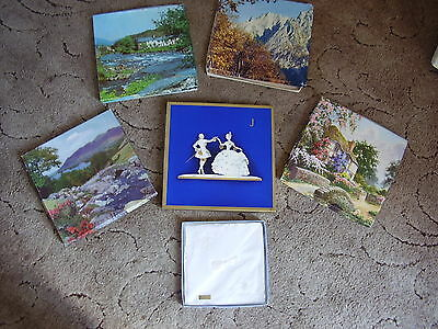 Six Vintage Boxes/Packs Ladies/Childrens Handkerchiefs