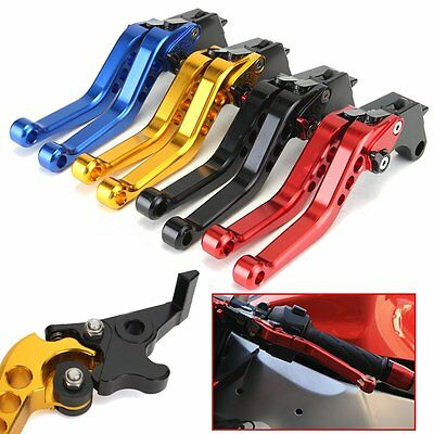 2pc CNC modified Lever Short Clutch Brake Handle Set For Honda Grom MSX125 14-17