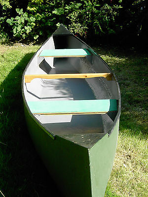 Priced at £350 for quick sale Hand built 16' Canadian style open canoe. Devon