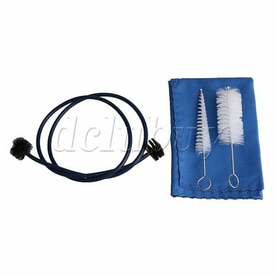 Trumpet Accessories Maintenance Cleaning Care Kit Brushes and Polished Pad