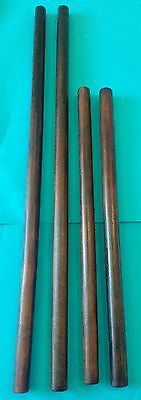 "4 Bahi sticks 20"" & 29""  Palm ironwood  Escrima Arnis Escrima Serrada Philippine"