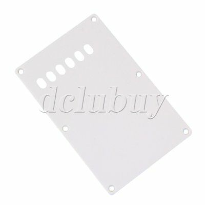 Back Plate For Electric Guitar White 6 Slot